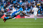 Aldo One Esteve of RC Deportivo La Coruna in action during the La Liga 2017-18 match between Real Madrid and RC Deportivo La Coruna at Santiago Bernabeu Stadium on January 21 2018 in Madrid, Spain. Photo by Diego Gonzalez / Power Sport Images