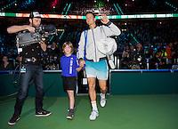 Februari 15, 2015, Netherlands, Rotterdam, Ahoy, ABN AMRO World Tennis Tournament, Tomas Berdych (CZE) <br /> Photo: Tennisimages/Henk Koster