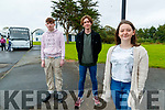 Danny Sheehy, Robin Porter and Clodagh Begley, students from Mercy Mouthhawk, Secondary School, Tralee, who received their Leaving Certificate results on Monday last