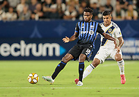 CARSON, CA - SEPTEMBER 21: Orji Okwonkwo #18 of the Montreal Impact chases down a ball during a game between Montreal Impact and Los Angeles Galaxy at Dignity Health Sports Park on September 21, 2019 in Carson, California.