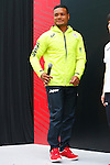 Lomano Lemeki (JPN), MAY 26, 2016 - : A press conference about presentation of Japan national team official sportswear for Rio de Janeiro Olympics 2016 in Tokyo, Japan. (Photo by Sho Tamura/AFLO SPORT)
