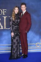 "Eddie Redmayne and Hannah Bagshawe<br /> arriving for the ""Fantastic Beasts: The Crimes of Grindelwald"" premiere, Leicester Square, London<br /> <br /> ©Ash Knotek  D3459  13/11/2018"