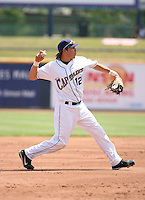 Niuman Romero of the Lake County Captains vs. the Delmarva Shorebirds: June 14th, 2007 at Classic Park in Eastlake, OH.  Photo by Mike Janes/Four Seam Images