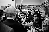 Manchester, New Hampshire.January 5, 2008..The press waits in the spin room during the debates with first the Republicans and then the Democrats at Aselm College. .