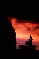 SUNSET AT MOSQUE