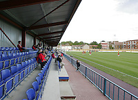 Main stand at the New Rec shortly after construction - Grays Athletic Football Club - 09/10/04 - MANDATORY CREDIT: Gavin Ellis/TGSPHOTO. Self-Billing applies where appropriate. NO UNPAID USE. Tel: 0845 094 6026