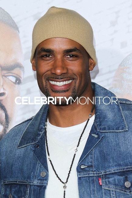 """HOLLYWOOD, CA - JANUARY 13: Boris Kodjoe at the Los Angeles Premiere Of Universal Pictures' """"Ride Along"""" held at the TCL Chinese Theatre on January 13, 2014 in Hollywood, California. (Photo by David Acosta/Celebrity Monitor)"""