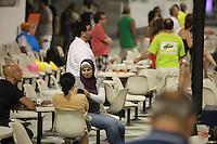 SAO PAULO, SP, 17 DE FEVEREIRO 2012 - CARNAVAL 2012 SP -MOVIMENTACAO SAMBODROMO - Vista do Sambodromo do Anhembi na regiao norte da cidade de Sao Paulo, nesta sexta-feira. 17. (FOTO: RICARDO LOU - BRAZIL PHOTO PRESS).