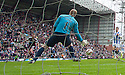 Hearts' Billy King scores their fourth goal.