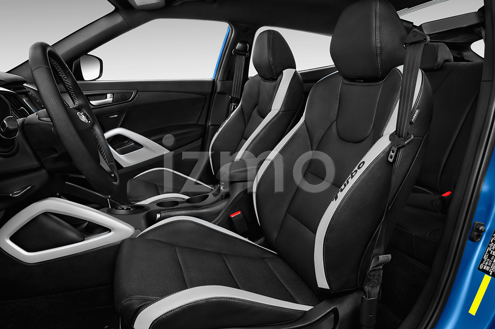 Front seat view of 2017 Hyundai Veloster Turbo-Manual 5 Door Hatchback Front Seat  car photos
