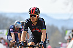 Michal Kwiatkowski (POl) Ineos Grenadiers crosses the finish line at the end of the 2021 Flèche-Wallonne, running 193.6km from Charleroi to Huy, Belgium. 21st April 221.  <br /> Picture: Serge Waldbillig | Cyclefile<br /> <br /> All photos usage must carry mandatory copyright credit (© Cyclefile | Serge Waldbillig)