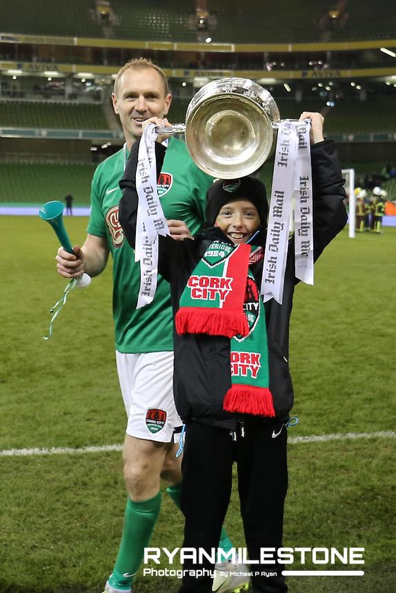 Irish Daily Mail FAI Cup Final Cork City v Dundalk. Sunday 6th November 2016, Aviva Stadium, Dublin