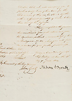 BNPS.co.uk (01202) 558833<br /> Pic:  Forum Auctions/BNPS<br />  <br /> A letter revealing Admiral Lord Nelson's extensive dietary demands for his fleet ahead of the Battle of Trafalgar has sold for over £3,000.<br /> <br /> The naval hero did not want a lack of supplies to compromise the British blockade of the French fleet at Toulon in 1804.<br /> <br /> So he instructed one of his captains to head to Sardinia to collect 'fresh beef' in the form of at least 60 live bullocks.