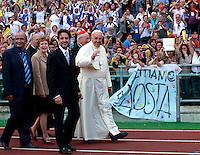 20140601 ROMA-CRONACA: PAPA FRANCESCO INCONTRA I SEGUACI DEL RINNOVAMENTO NELLO SPIRITO