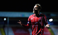 Lincoln City's Jorge Grant<br /> <br /> Photographer Chris Vaughan/CameraSport<br /> <br /> EFL Papa John's Trophy - Northern Section - Group E - Lincoln City v Manchester City U21 - Tuesday 17th November 2020 - LNER Stadium - Lincoln<br />  <br /> World Copyright © 2020 CameraSport. All rights reserved. 43 Linden Ave. Countesthorpe. Leicester. England. LE8 5PG - Tel: +44 (0) 116 277 4147 - admin@camerasport.com - www.camerasport.com