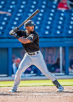 1 March 2017: Miami Marlins outfielder Isaac Galloway in Spring Training action against the Houston Astros at the Ballpark of the Palm Beaches in West Palm Beach, Florida. The Marlins defeated the Astros 9-5 in Grapefruit League play. Mandatory Credit: Ed Wolfstein Photo *** RAW (NEF) Image File Available ***