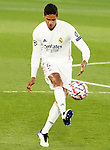 Real Madrid's Raphael Varane during UEFA Champions League match. October 20,2020.(ALTERPHOTOS/Acero)