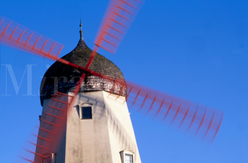 Windmill, Amsterdam, Holland
