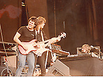 Neil Murray & Tommy Eyre  performing live with Gary Moore at Reading Rock Festival in 1982