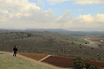 Israel, Shephelah, a view from Tel Lachish the site of the biblical Lachish