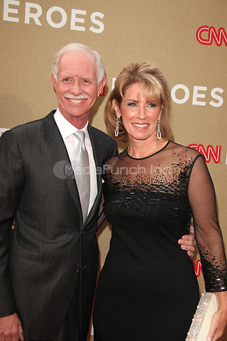 Chesley B. 'Sully' Sullenberger III at the CNN Heroes: An All-Star Tribute at The Shrine Auditorium on December 11, 2011 in Los Angeles, California.