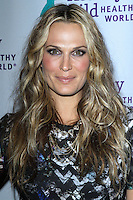 PACIFIC PALISADES, CA - NOVEMBER 06: Molly Sims at Healthy Child Healthy World's Mom On A Mission Awards & Gala on November 6, 2013 in Pacific Palisades, California. (Photo by David Acosta/Celebrity Monitor)