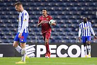 30th April 2021; Dragao Stadium, Porto, Portugal; Portuguese Championship 2020/2021, FC Porto versus Famalicao; Anderson Silva of Famalicao celebrates his goal in the 91st minute for 3-2