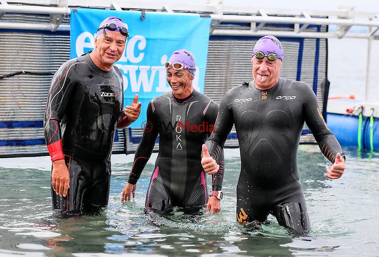 Swimming New Zealand Open Water Championships, 5km Epic, Lake Taupo, Waikato, New Zealand, Sunday 14 January 2018. Photo: Simon Watts/www.bwmedia.co.nz