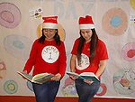 Students at East Early College HS held a family literacy day for all students of Laurenzo Early Childhood Center on Dec. 12, 2014.