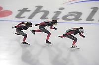 SCHAATSEN: HEERENVEEN: 13-01-2021, IJsstadion Thialf, Speed Skating training, Team Canada, Ivanie Blondin, ©Photo Martin de Jong