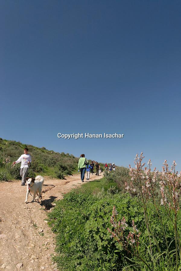 Israel, Shephelah region. Tel Maresha in Beth Guvrin