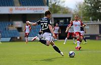 Dan McNamara of Millwall crosses the ball during Millwall vs Bristol City, Sky Bet EFL Championship Football at The Den on 1st May 2021