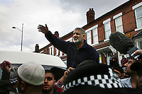 Tariq Jahan appeals for calm after his son and two other men were killed. 21 year old Haroon Jahan, and brothers Shazad Ali (30) and Abdul Musavir (31) were killed on Tuesday evening in a hit and run incident by suspected looters as they guarded a petrol station forecourt with many other people on Dudley Road in the Winson Green area of Birmingham, which was hit by a surge of rioting and looting. The violence started in London on Saturday evening after a peaceful protest in response to the shooting by police of Mark Duggan during an attempted arrest escalated into a riot, but has now spread to other areas in the country.
