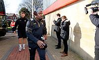 Photo: Richard Lane/Richard Lane Photography. Gloucester Rugby v Wasps. Aviva Premiership. 24/02/2018. Wasps' Christian Wade arrives.