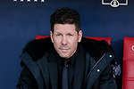 Atletico de Madrid's coach Diego Pablo Simeone during La Liga match between Atletico de Madrid and CD Leganes at Wanda Metropolitano stadium in Madrid, Spain. March 09, 2019. (ALTERPHOTOS/A. Perez Meca)