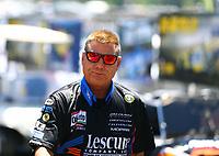 May 7, 2017; Commerce, GA, USA; NHRA funny car driver Jim Campbell during the Southern Nationals at Atlanta Dragway. Mandatory Credit: Mark J. Rebilas-USA TODAY Sports