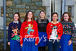 St Brigids Presentation students who participated in the Killarney schools Christmas jumper day on Friday front row L-r Saoirse Coffey, Tara Donnellan, Holly Spellman, Yen Leniston and Amy Walsh