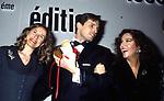 STEFANIA SANDRELLI MIGUEL BOSE' E DOMINIQUE SANDA<br /> PREMIO THE BEST PARIGI 1990