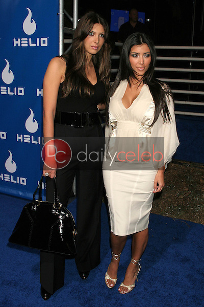 Brittney Gastineau and Kim Kardashian<br />at the Helio Drift Launch Party. 400 S. La Brea, Los Angeles, CA. 11-13-06<br />Dave Edwards/DailyCeleb.com 818-249-4998