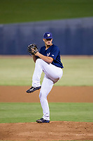 AZL Brewers relief pitcher Landon Holifield (46) delivers a pitch to the plate against the AZL Cubs on August 24, 2017 at Maryvale Baseball Park in Phoenix, Arizona. AZL Cubs defeated the AZL Brewers 9-1. (Zachary Lucy/Four Seam Images)