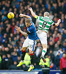 Martyn Waghorn and Scott Brown