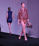 Models walk the runway at the Light as Air Fashion show with leather fashions by Jose Sanchez and performances by Vault with Choreography by Amy Eli at Vault Houston Saturday Jan.10, 2015.(Dave Rossman For the Chronicle)