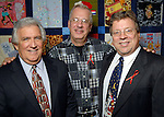 From left: Richard Watson, George Konar and Cliff Kitten at the World AIDS Day Luncheon benefitting AIDS Foundation Houston at the Four Seasons Hotel Tuesday Dec. 01,2009. (Dave Rossman/For the Chronicle)