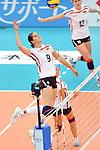 06.11.2010, Nippon Gaishi Hall, Nagoya, JPN, Volleyball Weltmeisterschaft Frauen 2010,  Deutschland ( GER ) vs. Italien ( ITA ), im Bild Corina Ssuschke (#9 GER). Foto © nph / Kurth