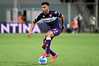Nicolas Gonzalez of ACF Fiorentina in action during the Italy cup football match between ACF Fiorentina and Cosenza calcio at Artemio Franchi stadium in Florence (Italy), August 13th, 2021. Photo Andrea Staccioli / Insidefoto