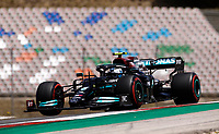 1st May 2021; Algarve International Circuit, in Portimao, Portugal; F1 Grand Prix of Portugal, qualification sessions;  Valtteri Bottas FIN, Mercedes-AMG Petronas F1 Team takes pole position