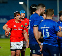 23th April 2021; RDS Arena, Dublin, Leinster, Ireland; Rainbow Cup Rugby, Leinster versus Munster; CJ Stander of Munster reacts to a referee decision