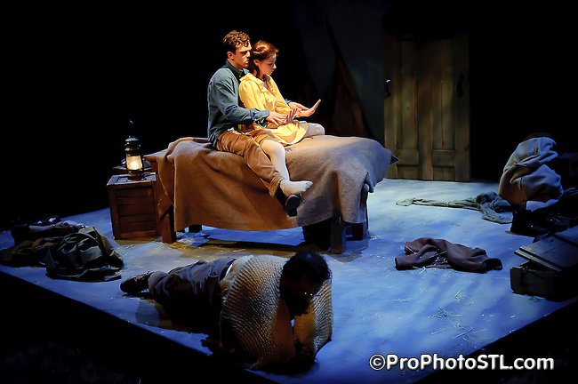 Upstream Theater from St. Louis, MO presents Outlying Islands by David Greig.