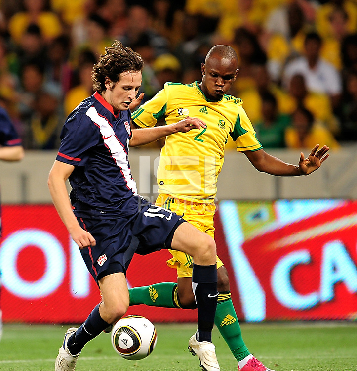14 Mikkel Diskerud of the USA during the  Soccer match between South Africa and USA played at the Greenpoint in Cape Town South Africa on 17 November 2010.