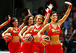 ACB's cheerleaders during ACB Supercup Semifinal match.September 24,2010. (ALTERPHOTOS/Acero)